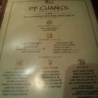 Photo taken at P.F. Chang's by Christopher C. on 2/14/2012