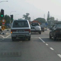 Photo taken at Traffic Light Jalan Salleh by AJAB C. on 6/19/2012