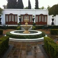 Photo taken at Lanzerac Hotel & Spa by Janine B. on 3/19/2012