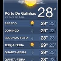 Foto tirada no(a) Pousada Porto Tropical por Toshio K. em 6/9/2012