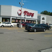Photo taken at Tops Market by Steve P. on 5/30/2012