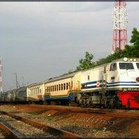 Photo taken at Stasiun Jombang by Armand C. on 7/29/2012