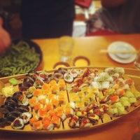 Photo taken at Sushi Zanmai by Chris H. on 7/31/2012