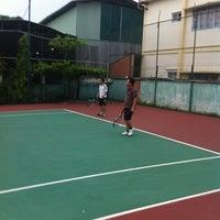 Photo taken at K99 Tennis Court by La H. on 4/22/2012