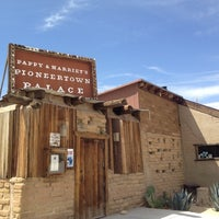 Photo taken at Pappy & Harriet's Pioneertown Palace by Spencer H. on 4/8/2012