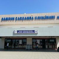 Photo taken at Samsun Çarşamba Airport (SZF) by Emre S on 9/3/2012