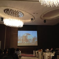 Photo taken at Crystal Grand Ballroom by Chatchai Y. on 3/27/2012
