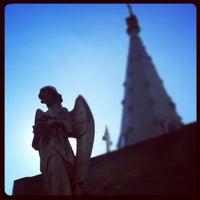Photo taken at La Recoleta Cemetery by carlo l. on 5/13/2012