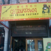 Photo taken at The Original Chinatown Ice Cream Factory by Jahanzeb J. on 6/16/2012