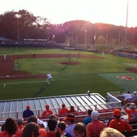 Photo taken at Doug Kingsmore Stadium by Erica L. on 3/16/2012