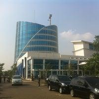 Photo taken at Universitas Multimedia Nusantara by Adri G. on 6/13/2012