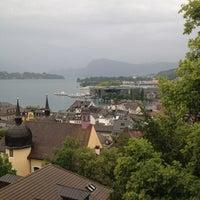 Photo taken at Schirmerturm by Sandro P. on 6/8/2012