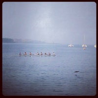 Photo taken at Outer Harbour Dragon Boat Club by Scott M. on 5/29/2012