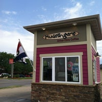 Photo taken at Mudslingers Drive-Thru Coffee by Mark W. on 5/25/2012