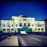 Снимок сделан в БДТ им. Г. А. Товстоногова пользователем Alekseev A. 5/15/2012
