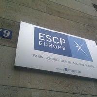 Photo taken at ESCP Europe by Eeke E. on 7/8/2012