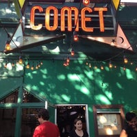 Photo taken at Comet Ping Pong by Nate S. on 5/17/2012
