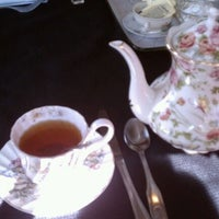 Photo taken at Elizabeth & Alexander's English  Tea Room by Tara S. on 3/24/2012