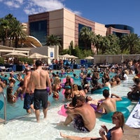 Photo taken at Wet Republic Ultra Pool by Elyse D. on 7/2/2012
