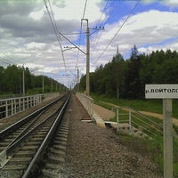 Photo taken at р. Войтоловка by Ekaterina T. on 6/30/2012