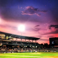 Photo taken at Victory Field by Jay A. on 7/18/2012