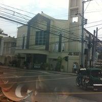 Photo taken at San Matias Parish Church by Rej G. on 4/6/2012