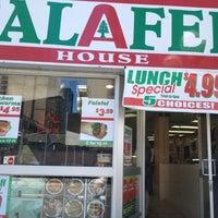 Photo taken at Falafel House by Jodi B. on 8/29/2012