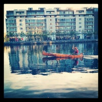 Photo taken at Grand Canal Dock by Julien H. on 5/24/2012