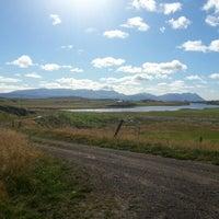 Photo taken at Munaðarnes by Baldvin J. on 9/2/2012