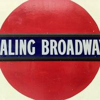 Photo taken at Ealing Broadway Railway Station (EAL) by Hervé C. on 5/31/2012