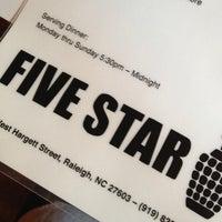 Photo taken at Five Star Restaurant by Adriadn O. on 6/4/2012