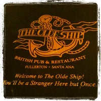Photo taken at The Olde Ship by Marvin S. on 4/30/2012