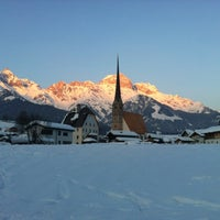 Photo taken at Maria Alm by Remmelt L. on 2/2/2012