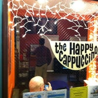 Photo taken at The Happy Cappuccino Coffee House by John R. on 3/16/2012