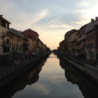 Photo taken at Naviglio Grande by Fabio Q. on 8/12/2012
