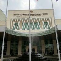 Photo taken at Kompleks Kementerian Dalam Negeri (KDN) by Syaiful R. on 8/22/2012