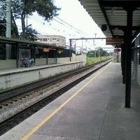 Photo taken at Estação Poá (CPTM) by Panambi O. on 2/24/2012