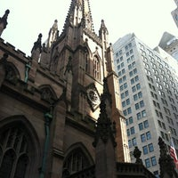 Photo taken at Trinity Church by Alex F. on 3/18/2012