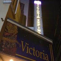 Photo taken at Teatro Victoria Espinosa by Willo G. on 4/14/2012