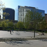 Photo taken at Rosa Parks Circle by Snow W. on 4/28/2012