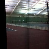 Photo taken at Westfield Tennis Club by Joshua C. on 5/25/2012