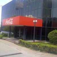 Photo taken at Coca-Cola İçecek A.Ş by Engin A. on 7/6/2012