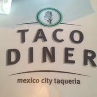 Photo taken at Taco Diner by Jim P. on 8/12/2012