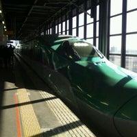 Photo taken at JR 盛岡駅 by Gianni G. on 3/19/2012