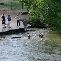 Photo taken at White Rock Lake Dog Park by Mickie (Brigette) J. on 5/6/2012