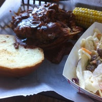 Photo taken at Pork Shoppe by Joe W. on 7/11/2012