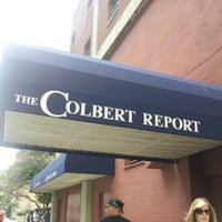 Photo taken at The Colbert Report by Allie C. on 9/7/2012