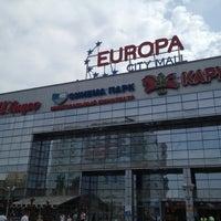 Снимок сделан в ТРК «Европа Сити Молл» пользователем Максим 8/8/2012