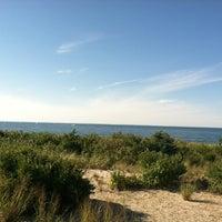 Photo taken at Cedar Beach by Nicole H. on 7/25/2012