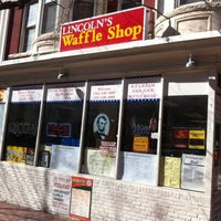 Photo taken at Lincoln's Waffle Shop by Daniella R . on 2/26/2012